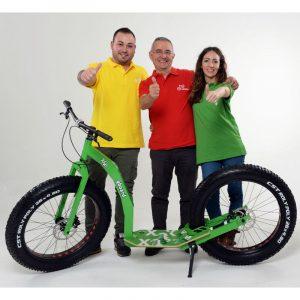 GreenBoard sport roller team backstage