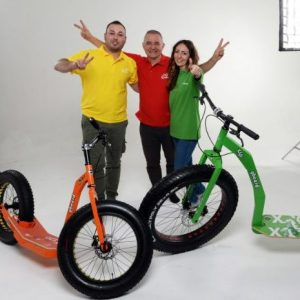 GreenBoard monopattini sportivi, team