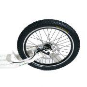 monopattino GreenBoard serie LE racing a spinta muscolare particolare ruota posteriore