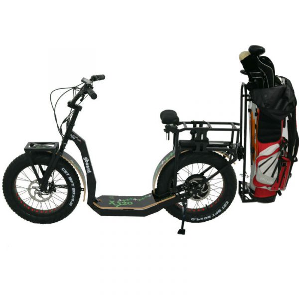 eYf 20 250 Gold electric scooter to play golf