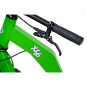 "GreenBoard Xf 26 has Front and rear hydraulic brakes ""Formula C1"""