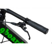 """Front and rear hydraulic brakes """"Formula C1"""" of greenboard sport scooter"""