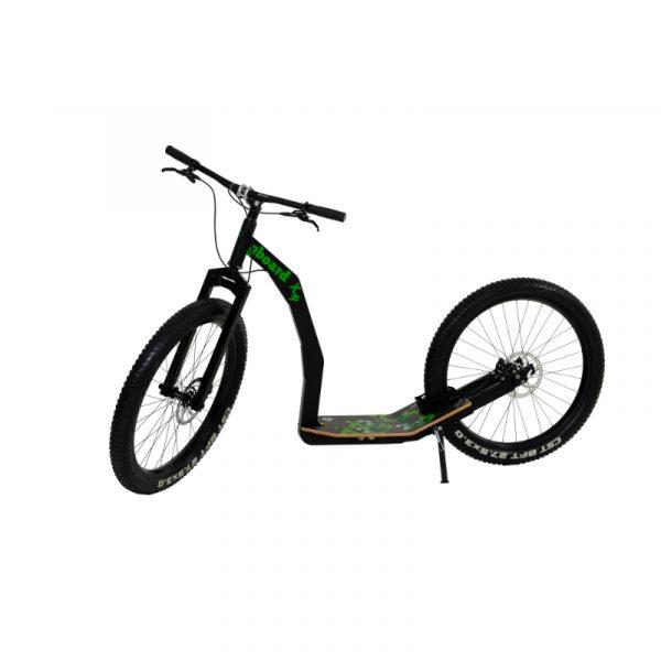 Monopattino GreenBoard X 3s nero a spinta muscolare