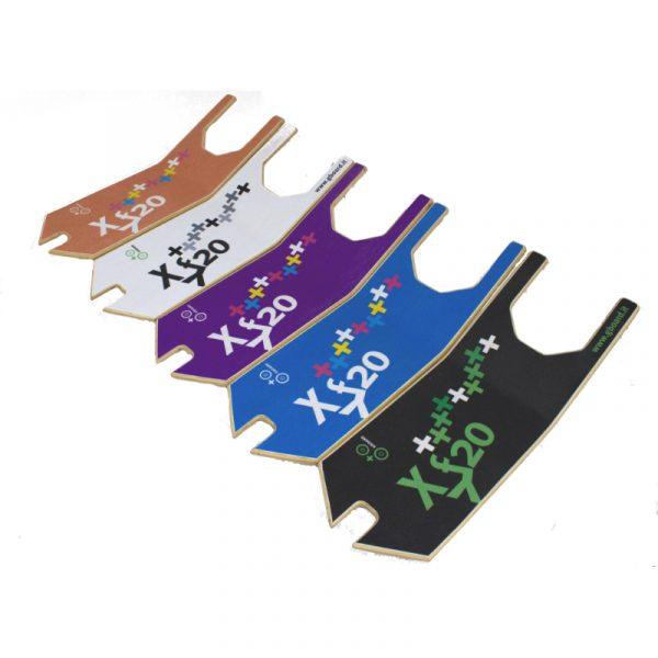 pedane in legno di diverso colore per monopattino GreenBoard