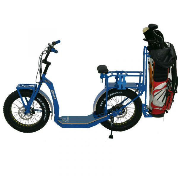 eYf 20 250 Platinum, monopattino golf edition blu