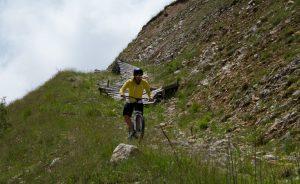 monopattino sportivo GreenBoard, downhill da montagna, by GBoard Italia