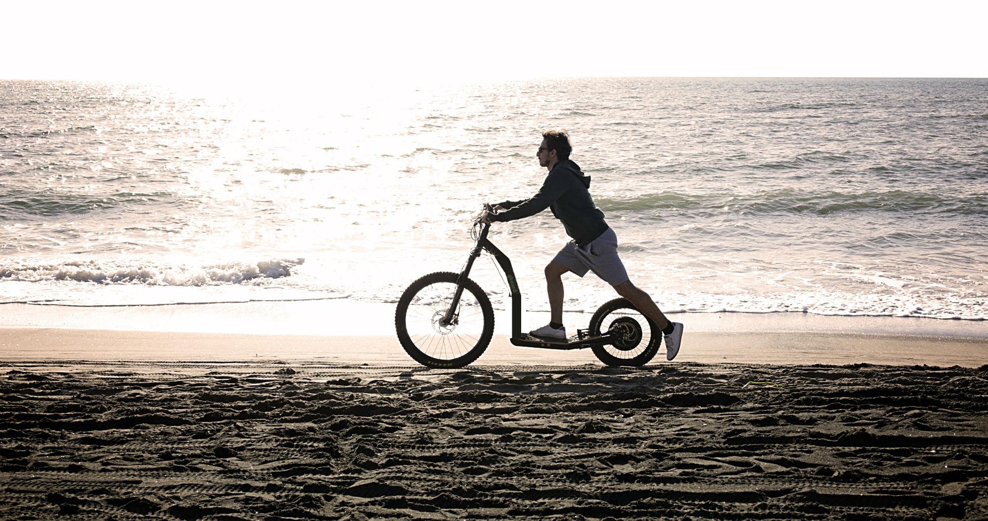 Roller: Greenboard monopattino adulti