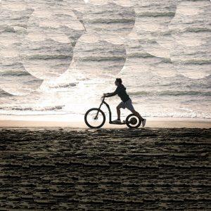 Monet himmel und meer, greenboard sport roller