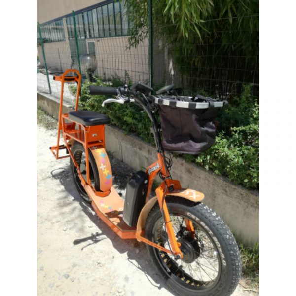 Platinum 750 integra golf. GreenBoard arancio a trazione integrale