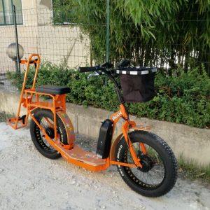 scooter elettrico gold 500 integra golf