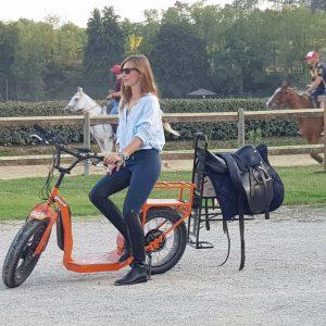 scooter elettrico Young 500 per equitazione gboard